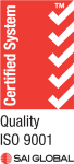 ISO Certified System Quality ISO 9001