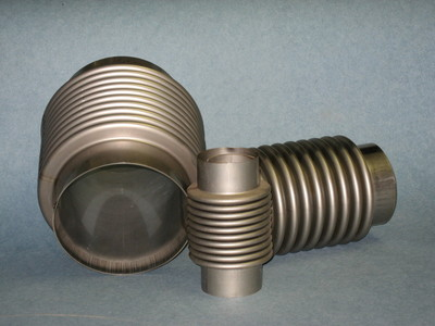 Stainless Steel Exhaust Bellows