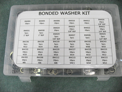 Bonded Washer Kit