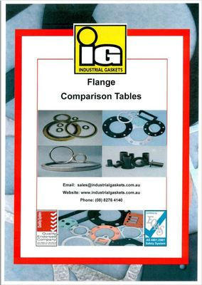 Flange Comparison Table